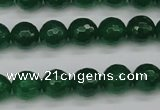 CCN1975 15 inches 14mm faceted round candy jade beads wholesale