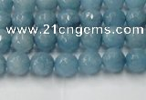 CCN2015 15 inches 4mm faceted round candy jade beads wholesale