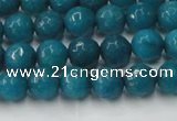 CCN2044 15 inches 6mm faceted round candy jade beads wholesale