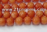 CCN2050 15 inches 4mm faceted round candy jade beads wholesale