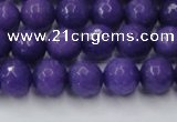 CCN2060 15 inches 10mm faceted round candy jade beads wholesale