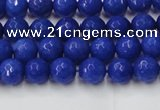 CCN2064 15 inches 4mm faceted round candy jade beads wholesale