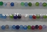 CCN2317 15.5 inches 2mm round candy jade beads wholesale