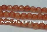 CCN2820 15.5 inches 4mm tiny faceted round candy jade beads