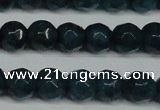 CCN2837 15.5 inches 5mm faceted round candy jade beads