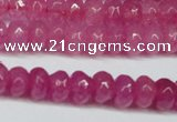 CCN2840 15.5 inches 2*4mm rondelle candy jade beads wholesale