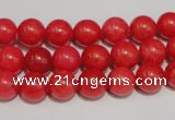 CCN33 15.5 inches 8mm round candy jade beads wholesale