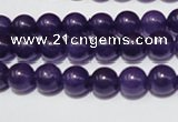CCN41 15.5 inches 8mm round candy jade beads wholesale
