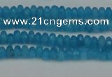 CCN4107 15.5 inches 2*4mm faceted rondelle candy jade beads