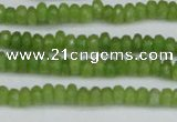 CCN4108 15.5 inches 2*4mm faceted rondelle candy jade beads