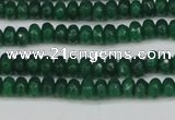 CCN4110 15.5 inches 2*4mm faceted rondelle candy jade beads
