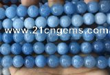 CCN5004 15.5 inches 8mm & 10mm round candy jade beads wholesale