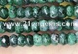 CCN5125 15 inches 3*4mm faceted rondelle candy jade beads