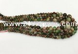 CCN5216 6mm - 14mm faceted round candy jade graduated beads