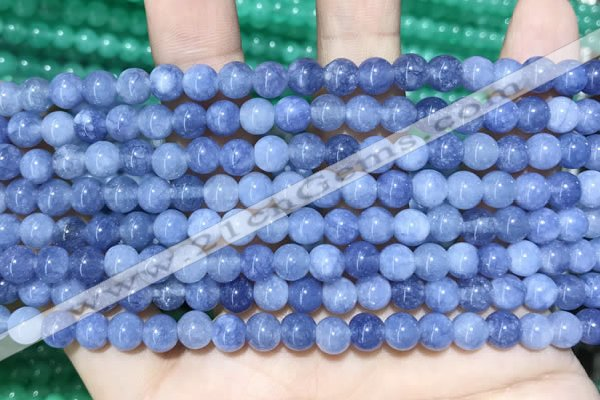 CCN5285 15 inches 6mm round candy jade beads Wholesale