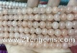 CCN5316 15 inches 8mm round candy jade beads Wholesale