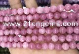 CCN5334 15 inches 8mm round candy jade beads Wholesale