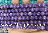 CCN5357 15 inches 8mm round candy jade beads Wholesale
