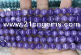 CCN5358 15 inches 8mm round candy jade beads Wholesale