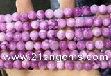CCN5361 15 inches 8mm round candy jade beads Wholesale