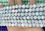 CCN5381 15 inches 8mm round candy jade beads Wholesale