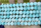 CCN5397 15 inches 8mm round candy jade beads Wholesale