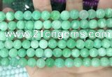 CCN5417 15 inches 8mm round candy jade beads Wholesale