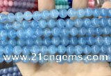 CCN5432 15 inches 8mm round candy jade beads Wholesale