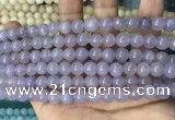 CCN5443 15 inches 8mm round candy jade beads Wholesale