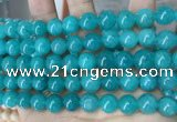 CCN5515 15 inches 8mm round candy jade beads Wholesale