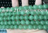 CCN5517 15 inches 8mm round candy jade beads Wholesale