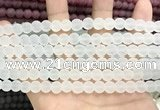 CCN5570 15 inches 8mm round matte candy jade beads Wholesale