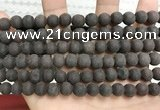 CCN5630 15 inches 8mm round matte candy jade beads Wholesale