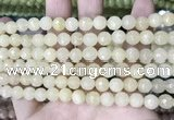 CCN5704 15 inches 8mm faceted round candy jade beads