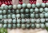 CCN5776 15 inches 10mm faceted round candy jade beads