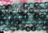 CCN5827 15 inches 10mm faceted round candy jade beads