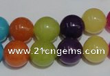 CCN59 15.5 inches 12mm round candy jade beads wholesale