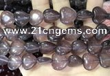 CCN5948 15 inches 14*14mm heart candy jade beads Wholesale