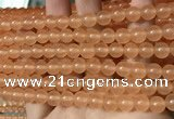 CCN6040 15.5 inches 6mm round candy jade beads Wholesale