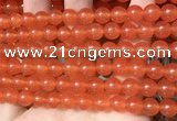 CCN6049 15.5 inches 8mm round candy jade beads Wholesale