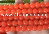 CCN6055 15.5 inches 12mm round candy jade beads Wholesale