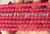CCN6056 15.5 inches 6mm round candy jade beads Wholesale