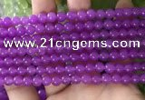 CCN6064 15.5 inches 6mm round candy jade beads Wholesale