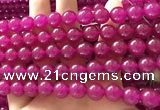 CCN6070 15.5 inches 10mm round candy jade beads Wholesale