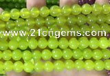 CCN6102 15.5 inches 8mm round candy jade beads Wholesale