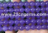 CCN6160 15.5 inches 12mm round candy jade beads Wholesale