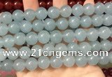 CCN6171 15.5 inches 12mm round candy jade beads Wholesale
