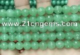 CCN6329 15.5 inches 8mm faceted round candy jade beads Wholesale