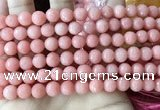 CCN6354 6mm, 8mm, 10mm, 12mm & 14mm faceted round candy jade beads