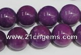 CCN69 15.5 inches 14mm round candy jade beads wholesale